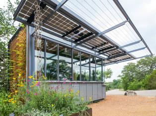 Lady Bird Johnson Wildflower Center Kiosk // Sanders Architecture