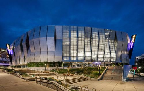 Sacramento Kings' Golden 1 Arena // TNEMEC