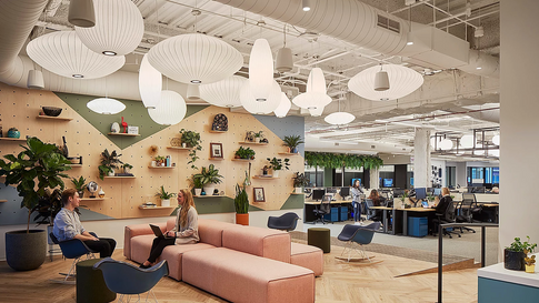 THE HOTTEST TRENDS IN OFFICE DESIGN