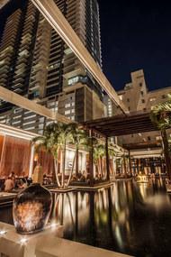 Uni-Systems // Setai Hotel Courtyard