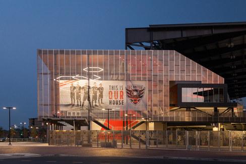 Audi Stadium // Structura
