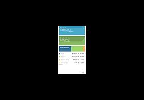 financial wellness app screen