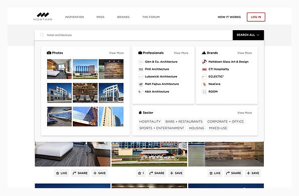 Get found faster by marketing your commercial construction company, interior design firms, and architecture products or services to an audience searching online.