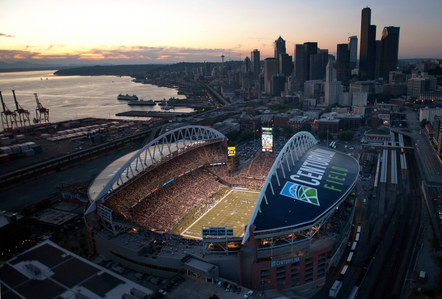 Seahawks Stadium Signage // superGraphics