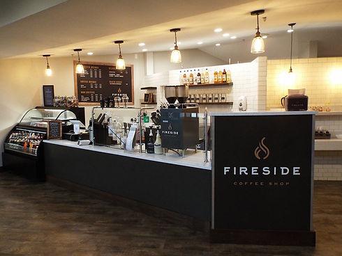 Fireside Coffee Shop Design