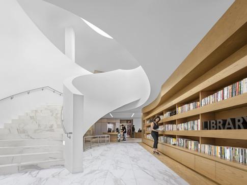 Donald Dungan Library At Lions Park | Tate Inc.