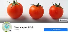 Olasz konyha blog Facebook oldal.png