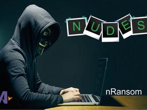 Novo vírus de computador que exige nudes para liberar acesso.