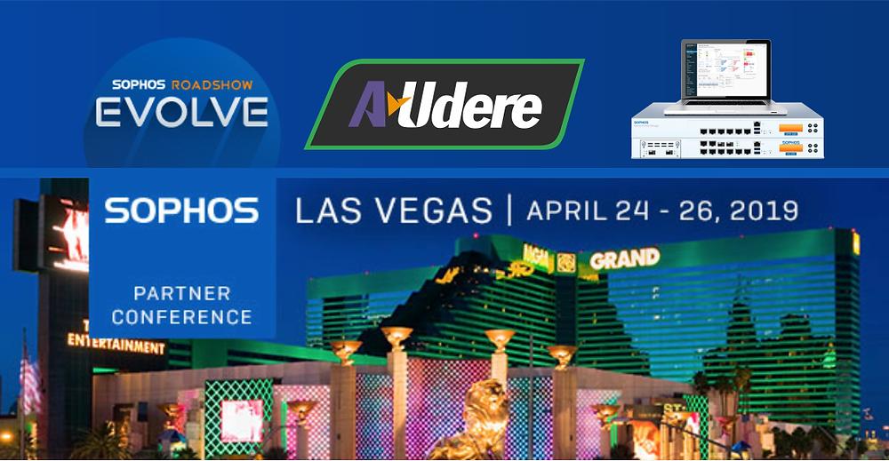 Evento Sophos em MGM Grand Las Vegas, Abril de 2019