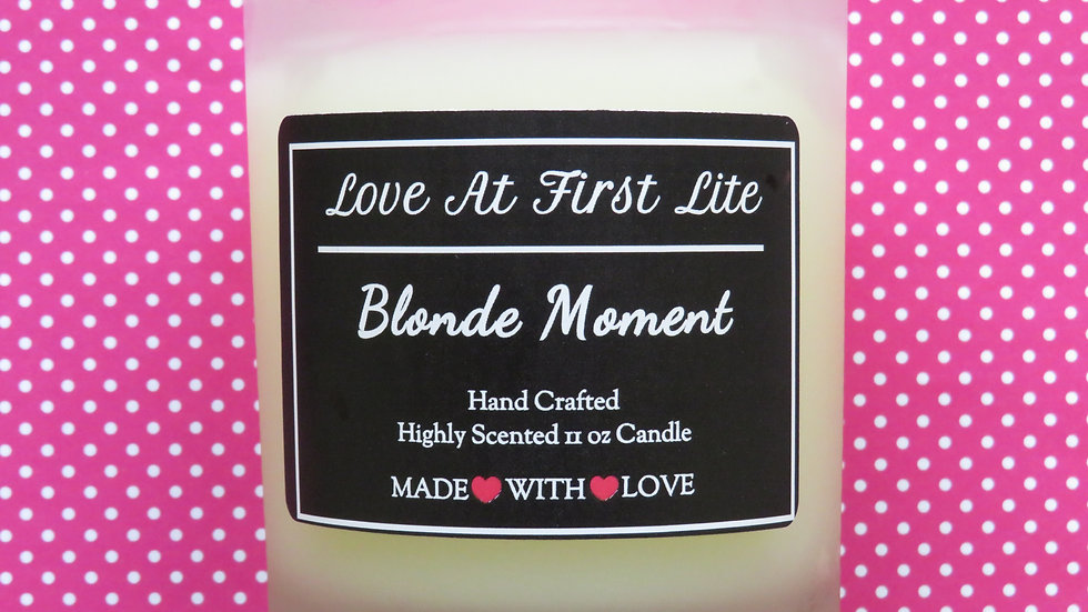 Blonde Moment 11 oz Candle