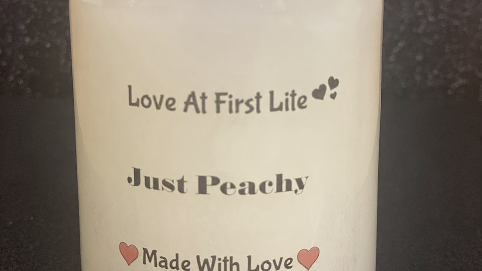 Just Peachy 12 oz Candle