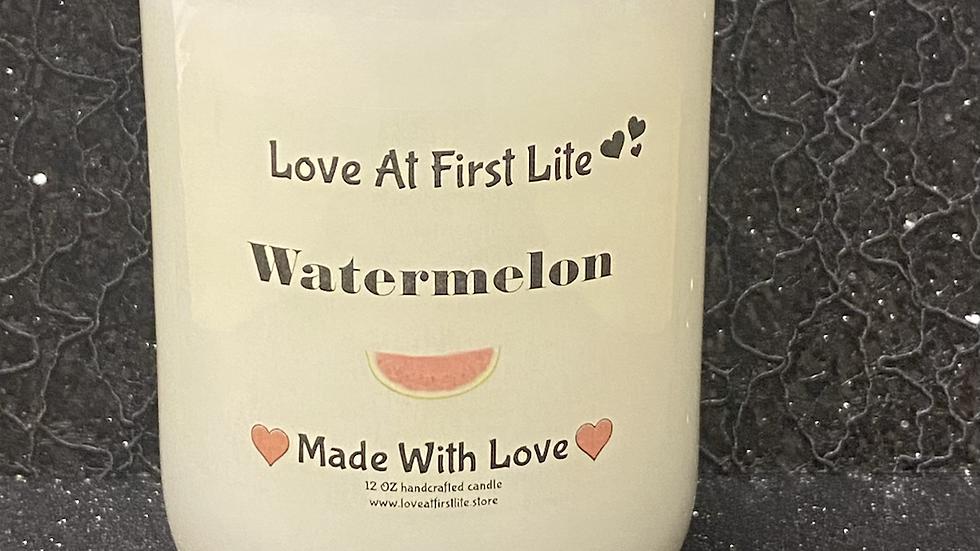 Watermelon 12 oz Candle