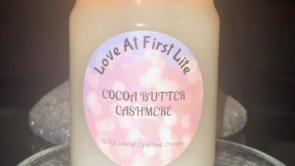 Cocoa Butter Cashmere 12 oz candle