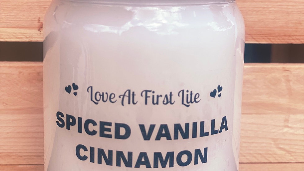 Spiced Vanilla cinnamon