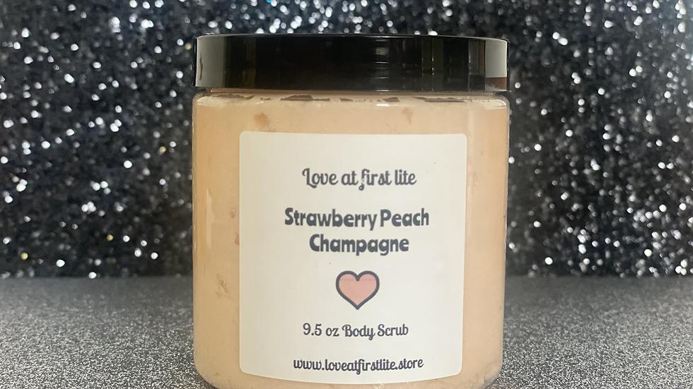 Strawberry Peach Champagne