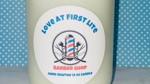 Barber Shop 12 oz candle