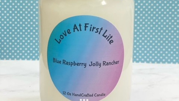 Blue Raspberry Jolly Rancher (type) 12 oz Candle