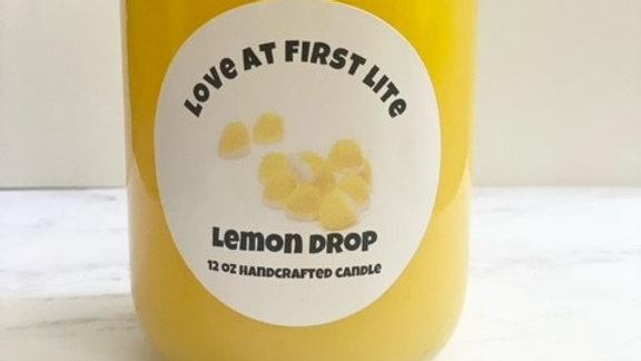Lemon Drop 12 oz Candle