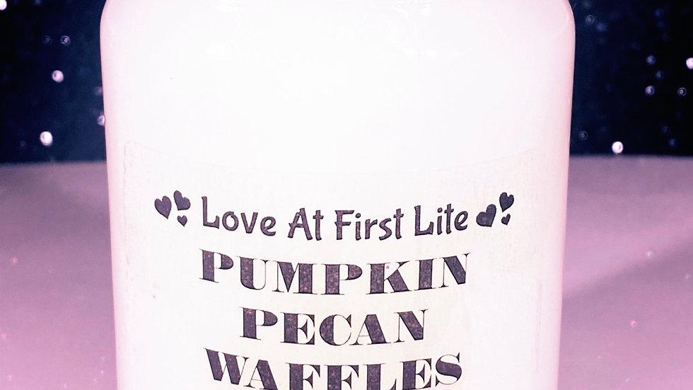 Pumpkin Pecan Waffles (Type)
