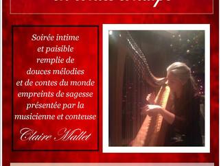 Soirée Contes, Harpe et magie des fêtes
