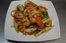Mixed Vegetables with Seafood
