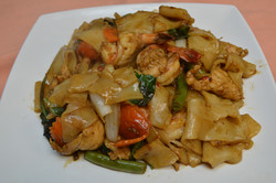 Drunkards Noodles with Shrimp