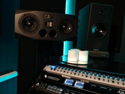 Recording Studio | Speakers | Westen Audio Recording Studio