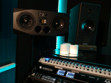 Recording Studio | Speakers | Westen Audio Recording Studio