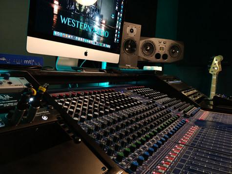 Recording Studio | Mixing Desk | Westen Audio Recording Studio