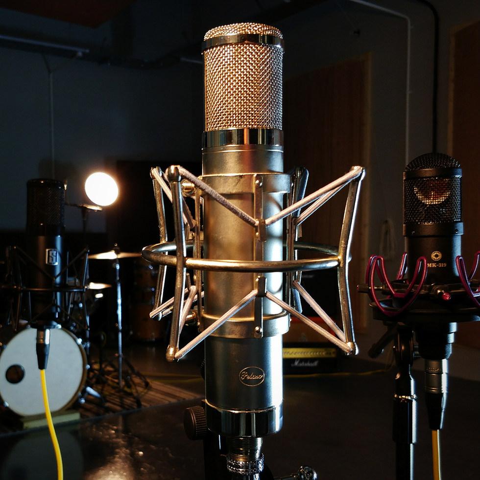 Recording Studio | Mic | Westen Audio Recording Studio