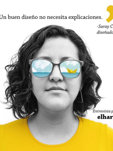 'Un buen diseño no necesita explicaciones': Saray Colin