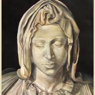 Pieta nella cartellina (acrílico, 2020)
