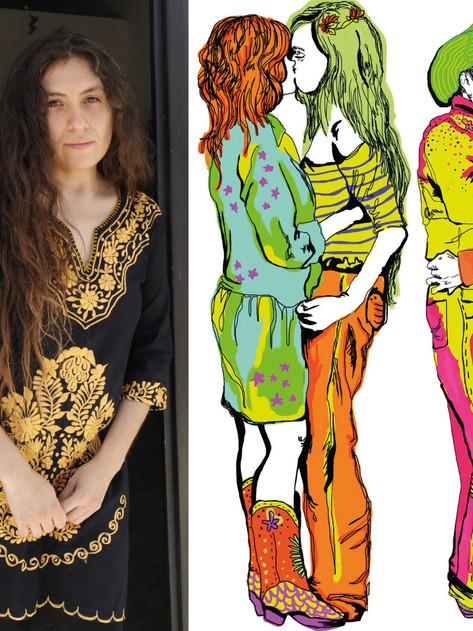 'Quería romper la doble moral saltillense de una forma bonita': Natalia Alejandrina Blanco