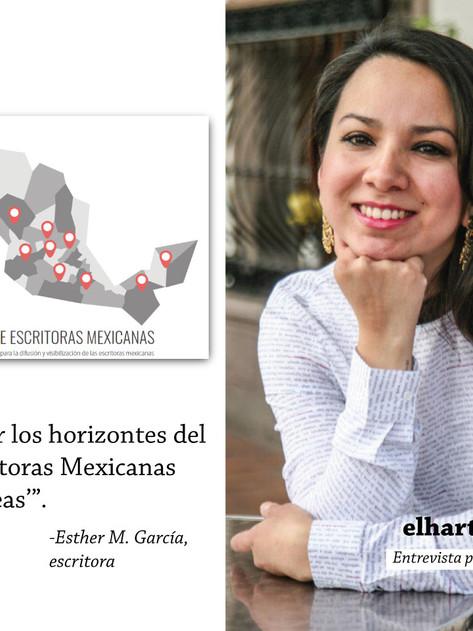 ¿Conoces a esta mujer?: Esther M. García crea un mapa de escritoras