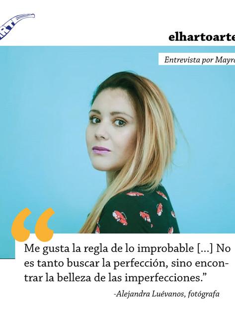 La belleza en las imperfecciones: Alejandra Vázquez Luévanos