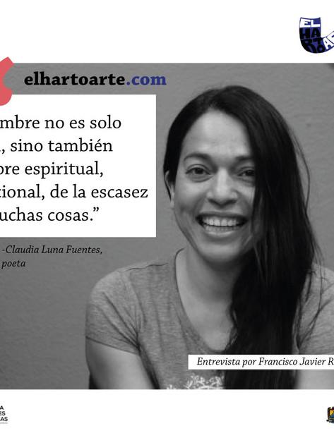 La pluma sin frontera: Claudia Luna Fuentes