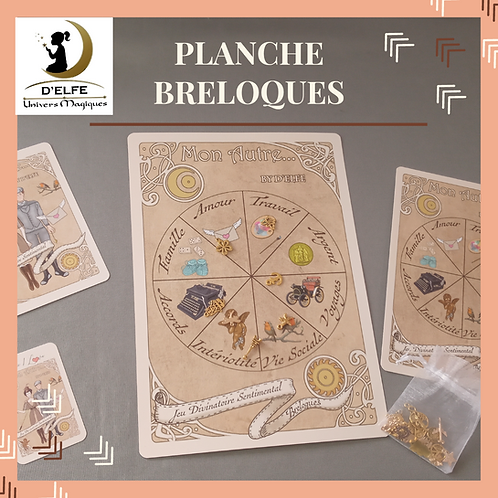 Planche Breloques