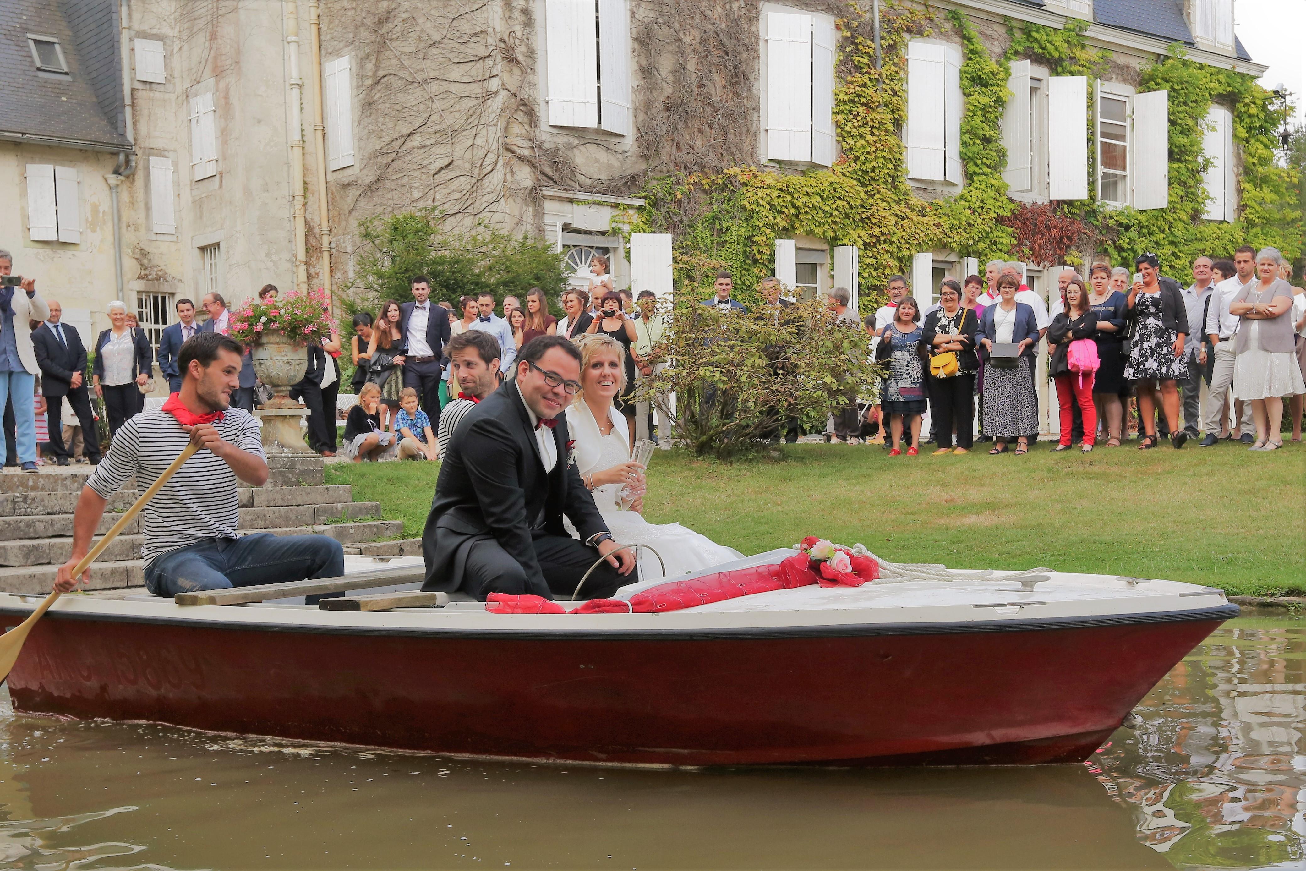 La barque des mariés