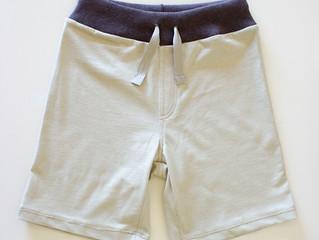 Encargos de verano: Pantalón corto para niño y upcycling de una prenda con valor sentimental