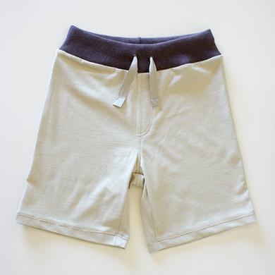 Pantalón corto niño algodón orgánico