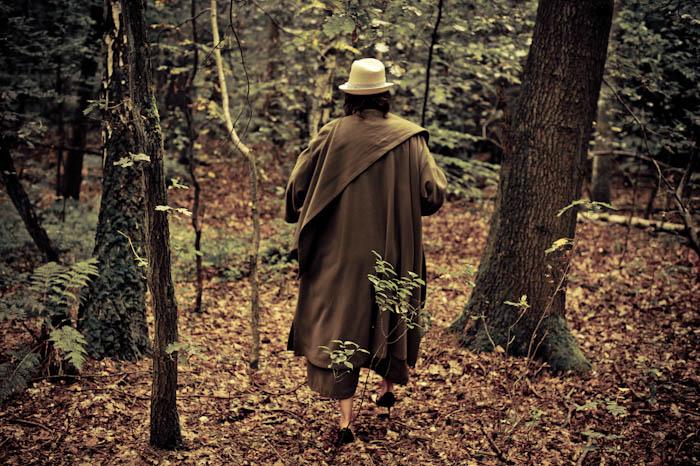 Wie man in den Wald hinein ruft