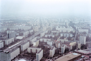 BERLIN FROM UP ABOVE