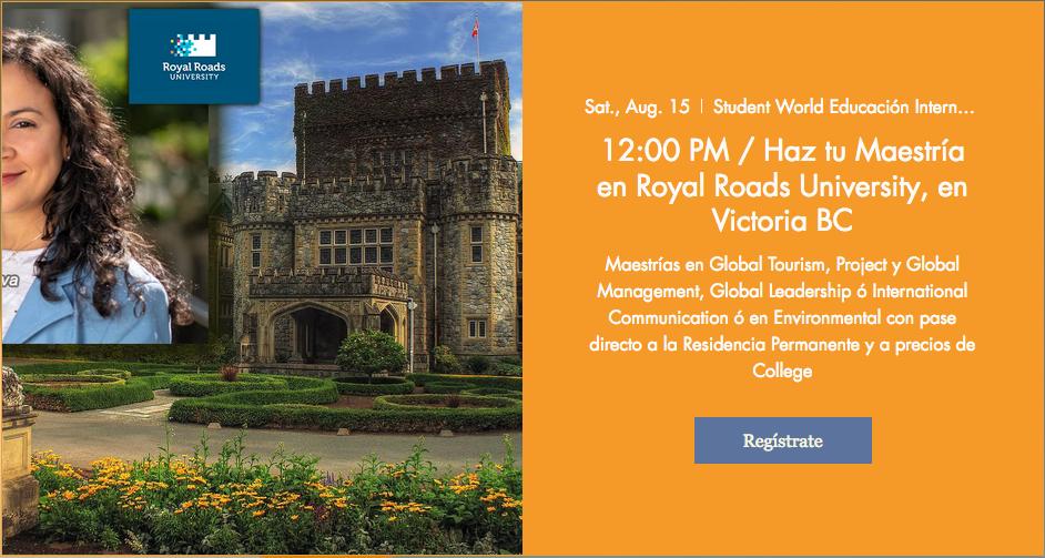 27 Webinar Royal Roads