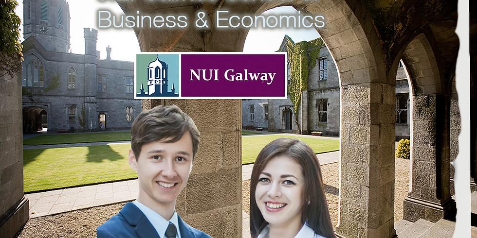 5:00 PM / Estudia Negocios y Turismo en Irlanda con NUI Galway University