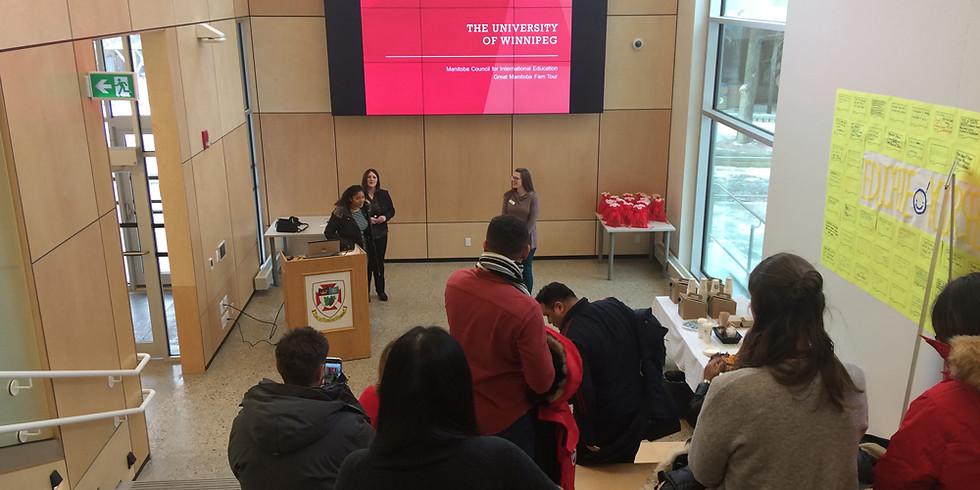 5:00 PM / Nuevos Programas Profesionales de Posgrado con la Universidad de Winnipeg