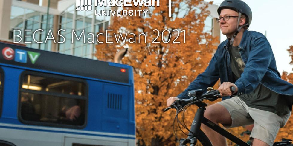 12:00 PM / BECAS MacEwan 2021