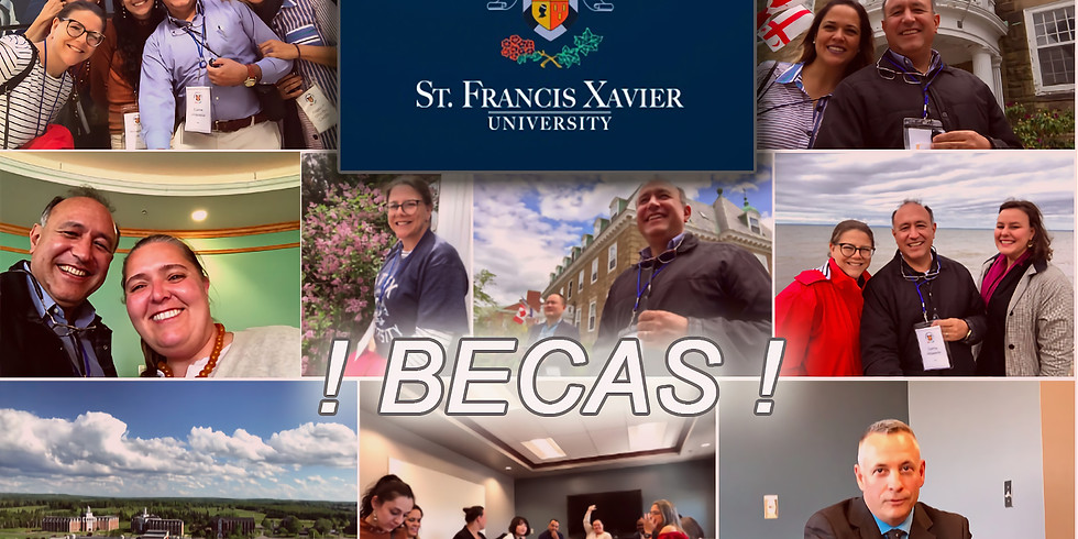 12:00 P.M. / BECAS de hasta $ 32,000 dólares en St. Francis Xavier University