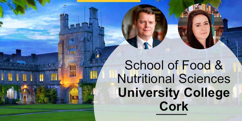 2:00 PM / Food Science con los expertos de University College Cork, en Irlanda