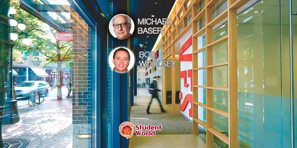 6:00 PM / VFS Film Production con Michael Baser and Bob Woolsey
