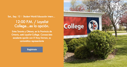 30 Webinar Loyalist College es la opción